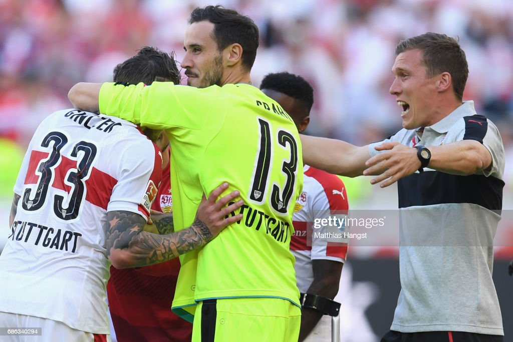 VfB Stuttgart v FC Wuerzburger Kickers - Second Bundesliga