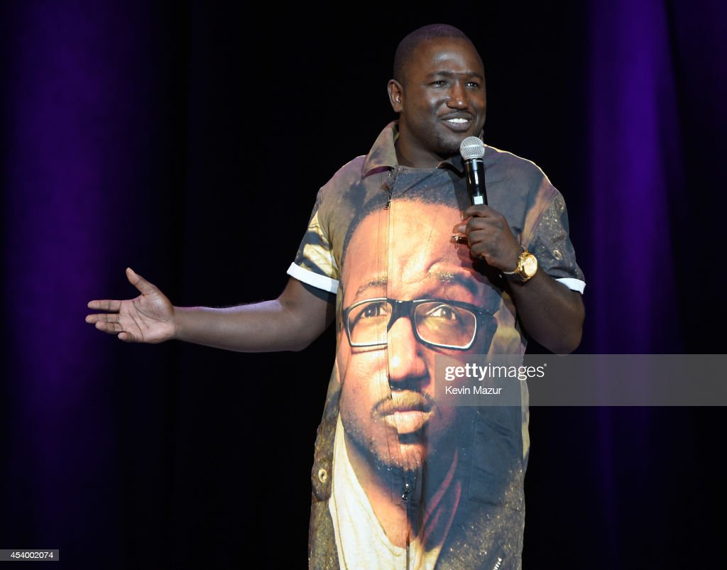 Hannibal Buress performs onstage during The Oddball Comedy & Curiosity Festival at Nikon at Jones Beach Theater on August 22, 2014 in Wantagh, New York.