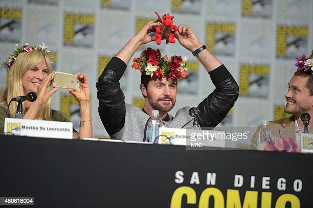 DIEGO 2015 'Hannibal' Panel Pictured Martha De Laurentiis Executive Producer Richard Armitage Hugh Dancy Saturday July 11 from the San Diego...