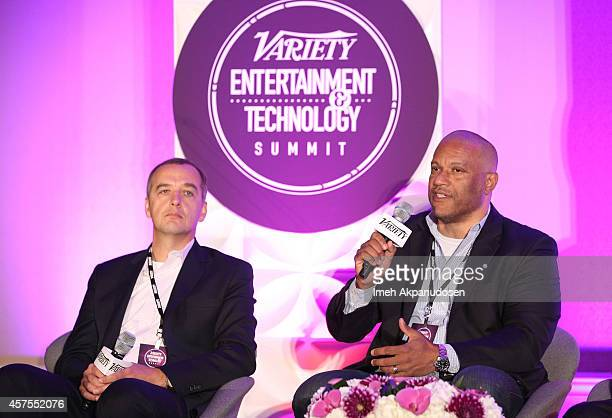 Hanno Basse chief technology officer 20th Century Fox and Mark L Walker svp and general manager Walt Disney Interactive Media Walt Disney Interactive...