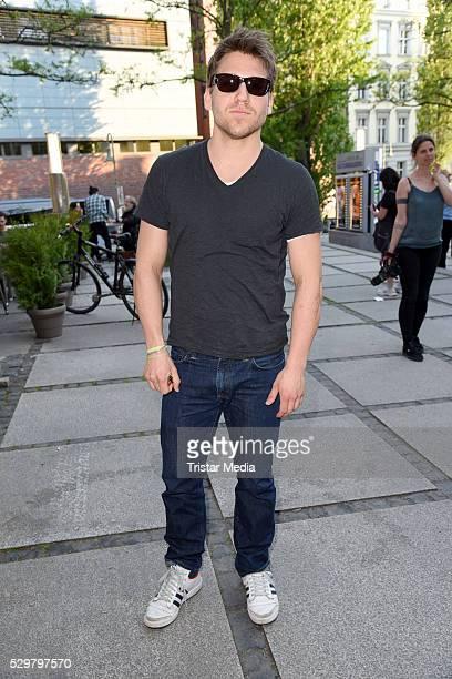 Hanno Koffler attends the 'Maengelexemplar' German Premiere on May 09 2016 in Berlin Germany