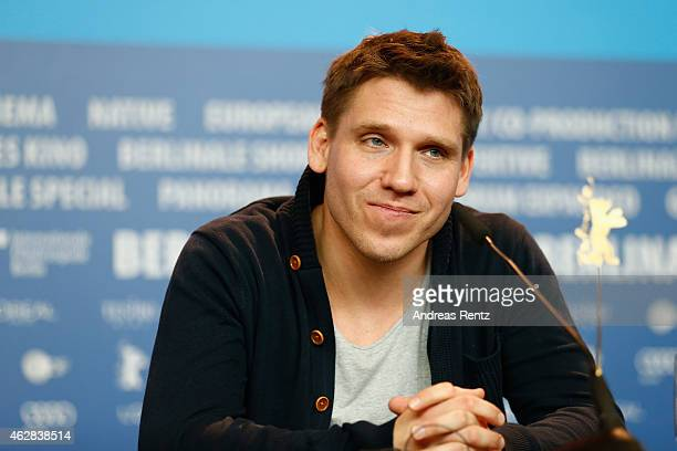 Hanno Koffler attends the 'Tough Love' press conference during the 65th Berlinale International Film Festival at Grand Hyatt Hotel on February 6 2015...