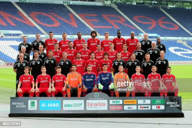 Hannover 96 Videoanalyst Lars Barlemann Teammanager Dominic Prinz 6 Ceyhun Gülselam 9 Artur Sobiech 25 Marcelo 20 Felipe 31 Waldemar Anton 5 Salif...