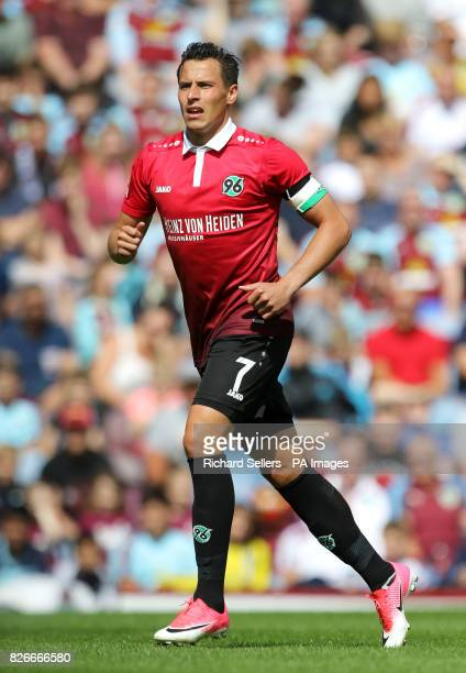Hannover 96's Edgar Prib during the preseason friendly match at Turf Moor Burnley PRESS ASSOCIATION Photo Picture date Saturday August 5 2017