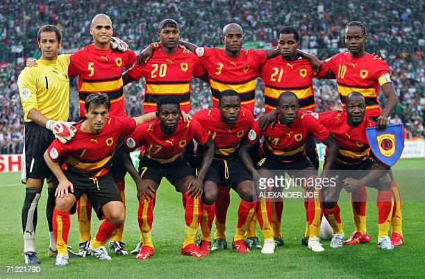Angolan players Angolan midfielder Figueiredo midfielders Ze Kalanga Mateus Mendonca and Andre goalkeeper Joao Ricardo defenders Kali Loco Jamba and...