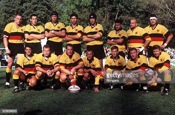 Laenderspiel 1997 GER TCH 3117 Hannover Nationalmannschaft/Team Deutschland