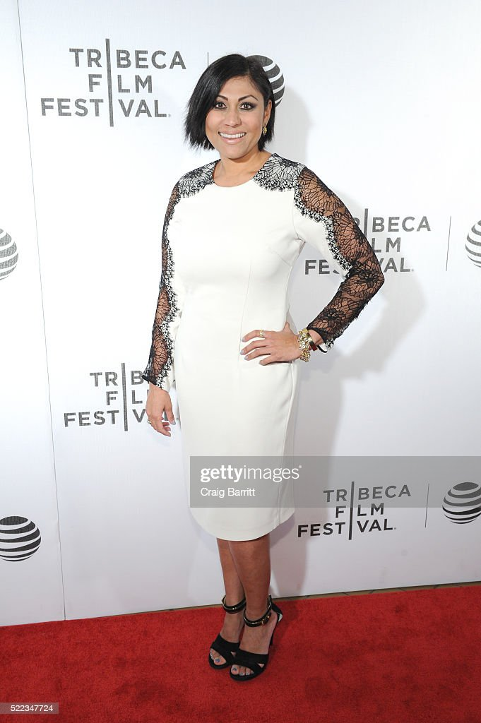 Hanny Patel attends 'Equals' Red Carpet Premiere Night during Tribeca Film Festival at BMCC John Zuccotti Theater on April 18, 2016 in New York City.