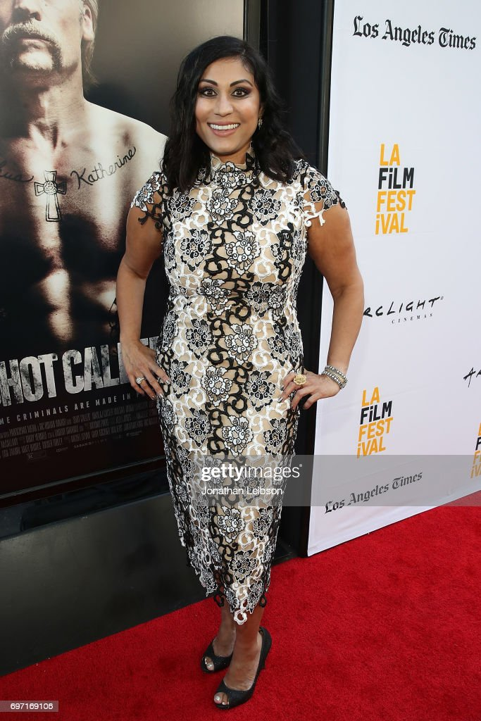 Hanny Patel attends the AT&T And Saban Films Present The LAFF Gala Premiere Of Shot Caller at ArcLight Cinemas on June 17, 2017 in Culver City, California.