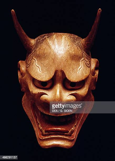 Hannya mask representing a jealous female demon used in Noh Theatre Nagoya Japanese civilization