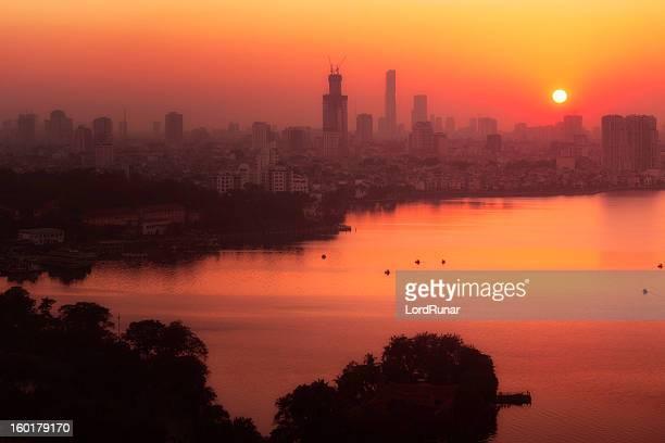 Hanoi sunset
