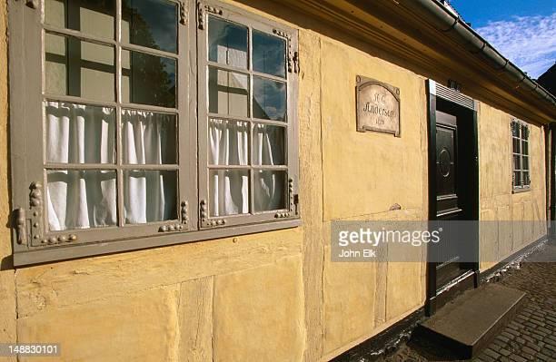 Hans Christian Andersen Hus and museum exterior.