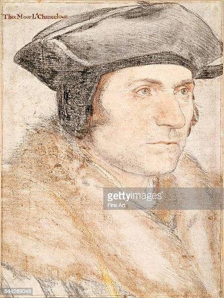 Hans Holbein the Younger Sir Thomas More c 152627 chalk on paper 398 x 299 cm Royal Collection London
