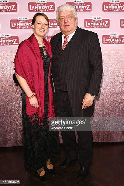 Hans Meiser and his daughter Anouk Meise attend the Lambertz Monday Night 2015 at Alter Wartesaal on February 2 2015 in Cologne Germany