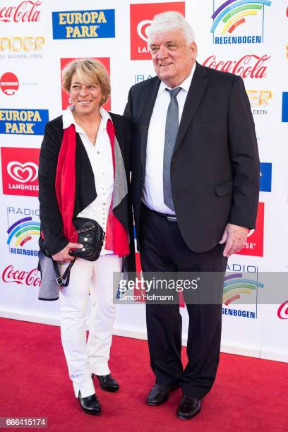 Hans Meiser attends the Radio Regenbogen Award 2017 at Europapark on April 7 2017 in Rust Germany