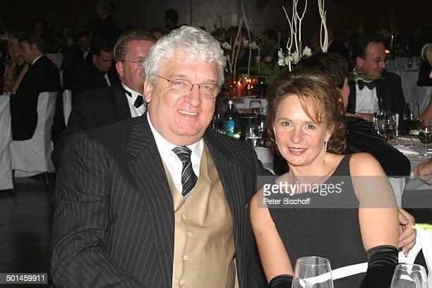 Hans Meiser Ehefrau Sabine Gala '23 Sportpresseball' 'Alte Oper' Frankfurt Hessen Deutschland Europa Moderator Promi BB CD PNr 1348/2004 100178
