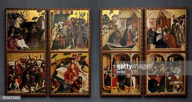 Hans Multscher German painter Wurzach Altarpiece 1437 Gemaldegalerie Berlin Germany