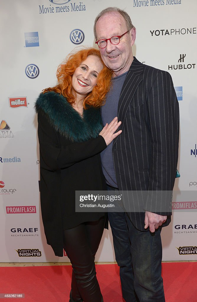 Hans Peter Korff and Christiane Leuchtmann attend networking event 'Movie meets Media' at Hotel Atlantic on December 2, 2013 in Hamburg, Germany.