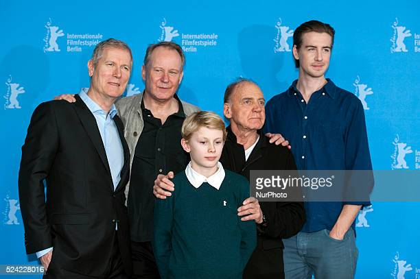 Hans Petter Moland presents 'IN ORDER OF DISAPPERANCE' in the 64th Berlinale Film Festival with Stellan Skarsg����rdP����l Sverre HagenBruno Ganz...