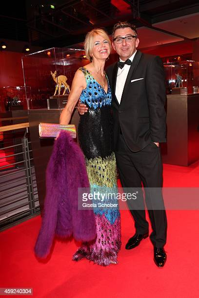 Hans Sigl and his wife Susanne arrive for the Bambi Awards 2014 on November 13 2014 in Berlin Germany Photo by Gisela Schober/Getty Images
