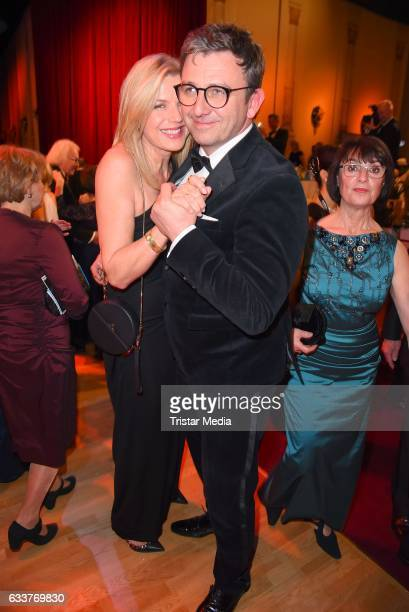 Hans Sigl and his wife Susanne Kemmler during the Semper Opera Ball 2017 at Semperoper on February 3 2017 in Dresden Germany