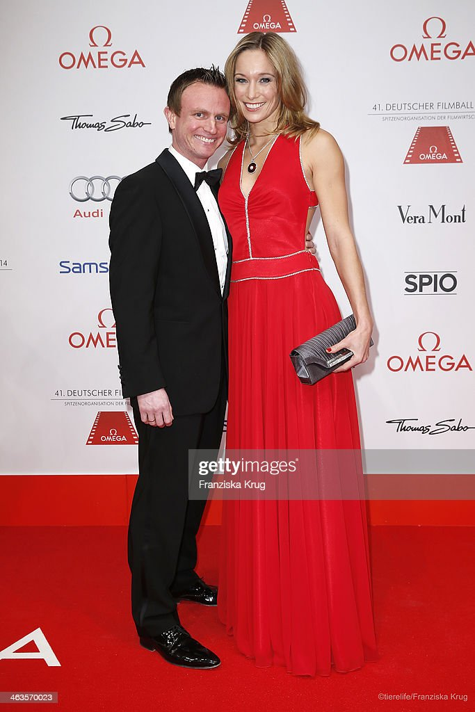 Hans Theiss and <a gi-track='captionPersonalityLinkClicked' href=/galleries/search?phrase=Christine+Theiss&family=editorial&specificpeople=5428329 ng-click='$event.stopPropagation()'>Christine Theiss</a> attend the German Film Ball 2014 (Deutscher Filmball) on January 18, 2014 in Munich, Germany.
