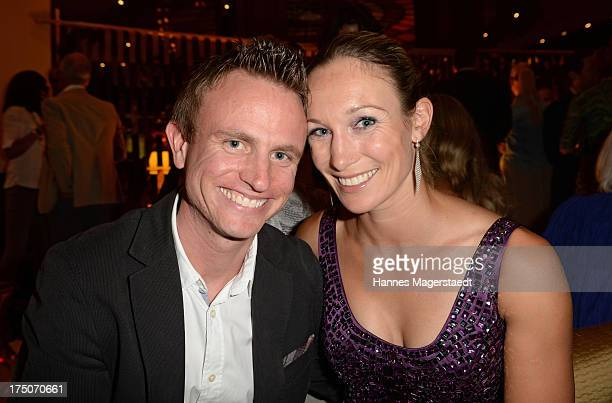 Hans Theiss and Christine Theiss attend the Sommerfest Eclat Dore at Hotel Vier Jahreszeiten on July 30 2013 in Munich Germany