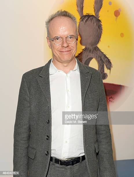 Hans Ulrich Obrist attends the Coach X Serpentine The Future Contemporaries Party at The Serpentine Sackler Gallery on February 21 2015 in London...