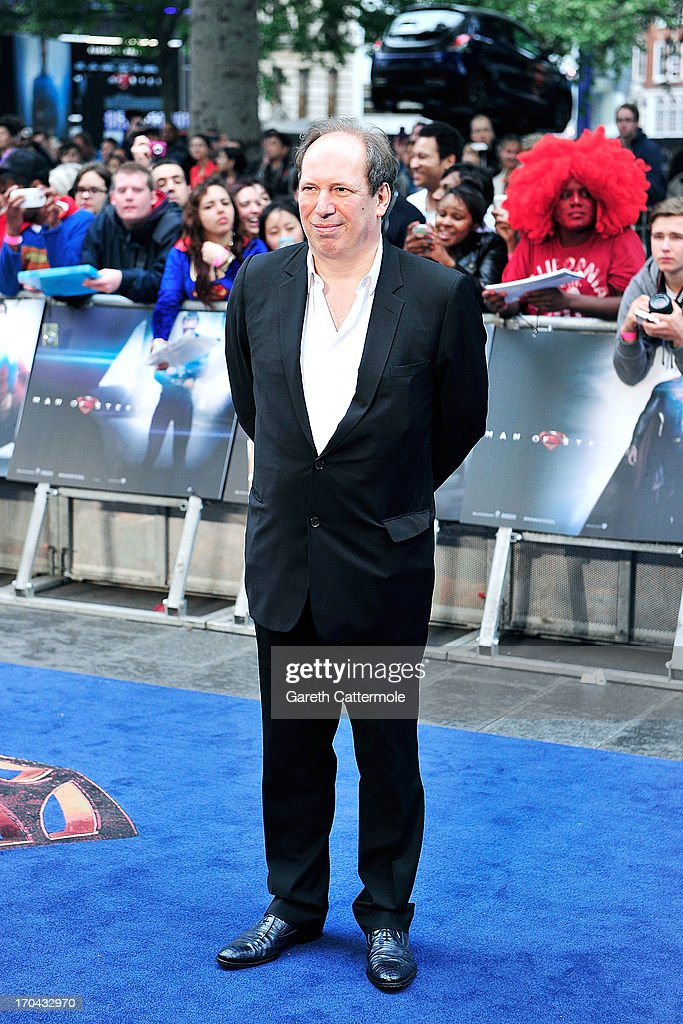 Hans Zimmer attends the UK Premiere of 'Man of Steel' at Odeon Leicester Square on June 12, 2013 in London, England.