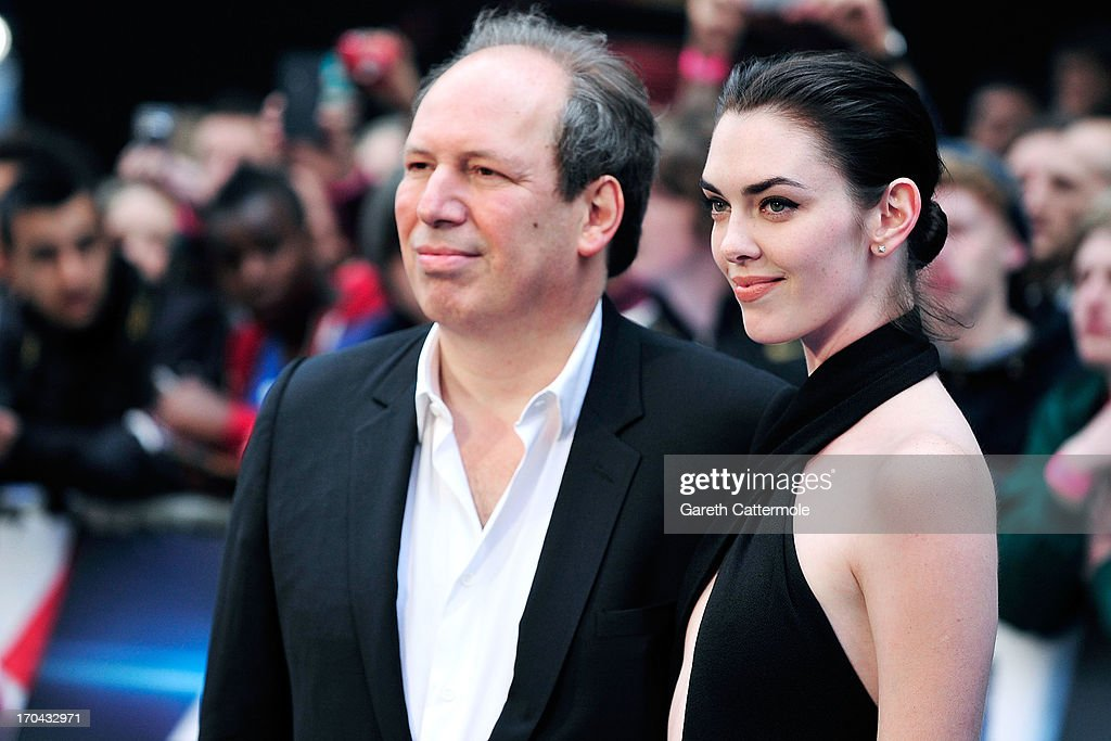 Hans Zimmer & Guest attends the UK Premiere of 'Man of Steel' at Odeon Leicester Square on June 12, 2013 in London, England.