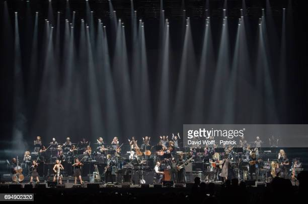 Hans Zimmer performs at AccorHotels Arena on June 11 2017 in Paris France