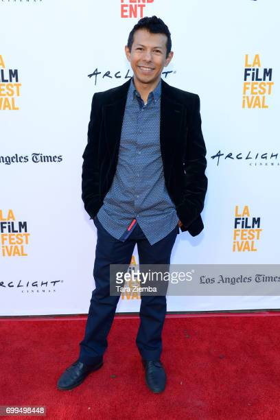 Hansel Ramírez attends the screening of 'Episodes Indie Series from the Web' during the 2017 Los Angeles Film Festival at Arclight Cinemas Culver...