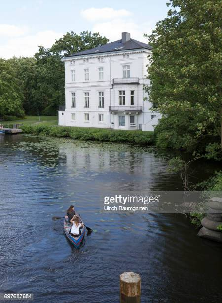 Hansestadt Hamburg 'Bedroom' for US President Donald Trump during the G20 summit The photo shows the guest house of the Hamburg Senate on Lake...