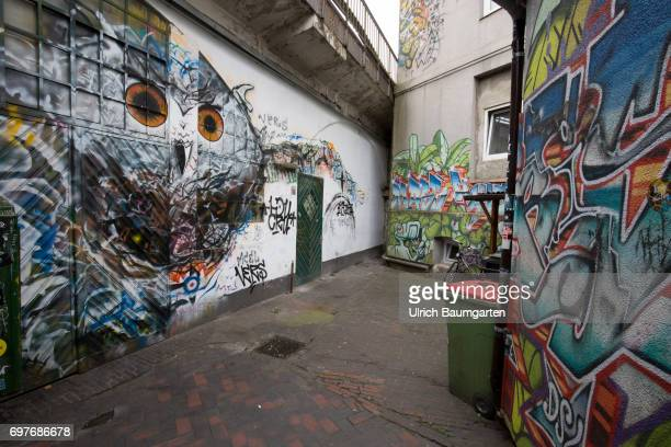Hansestadt Hamburg thats too is Hamburg Graffiti in the Altona district