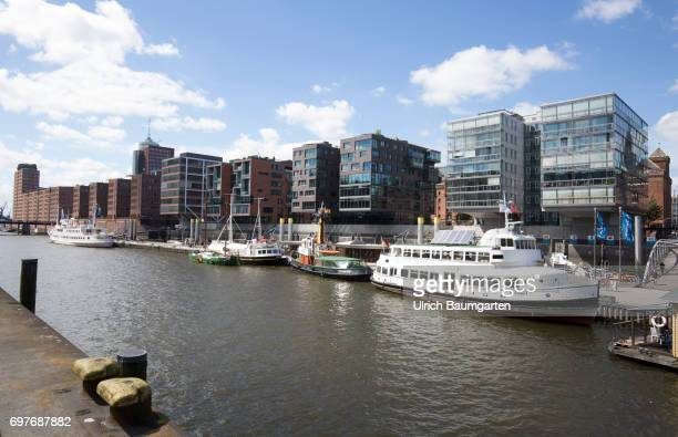 Hansestadt Hamburg the Hafencity living and working directly on the water
