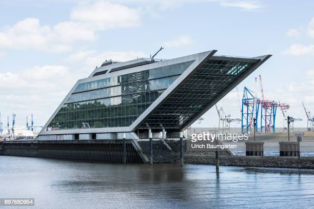 Hansestadt Hamburg the photo shows the Dockland a modern office building on the Elbe