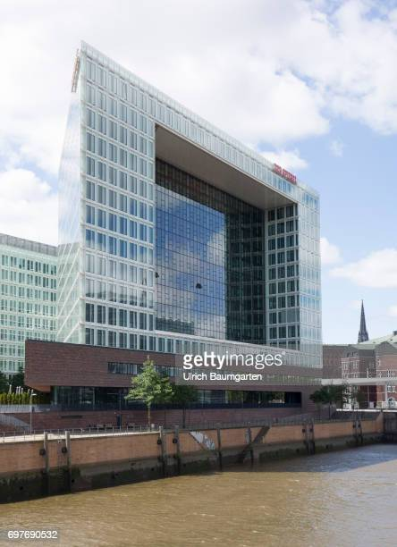 Hansestadt Hamburg the publishing house of the Spiegel group in the Hafencity