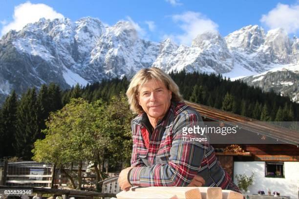 Hansi Hinterseer attend the CD Release 'BERGSINFONIE' on October 12 2016 in Ellmau Austria