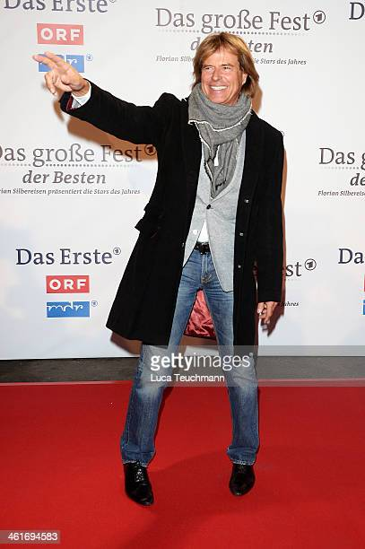 Hansi Hinterseer attends 'Das grosse Fest der Besten' at Velodrom on January 10 2014 in Berlin Germany