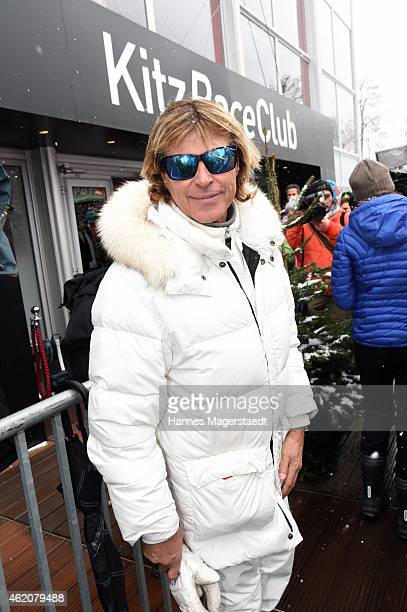 Hansi Hinterseer attends the Hahnenkamm Race on January 24 2015 in Kitzbuehel Austria