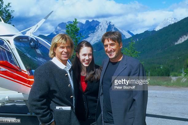 Hansi Hinterseer Janina Voosen Norbert Blecha ARD/ORFFilm 'Da wo die Berge sind 2' Dreharbeiten in Seefeld Tirol sterreich Europa Berge Alpen Gebirge...