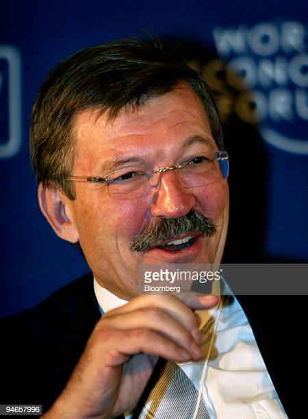 HansJoachim Korber chairman and chief executive officer of Metro Group Inc speaks at the World Economic Forum India Economic Summit in New Delhi...