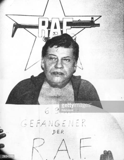 HansMartin Schleyer German President of the Employer's Association and of the Federal Association of German Industry who was kidnapped by the RAF aka...