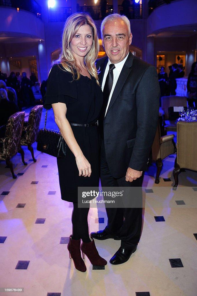 Hans-Reiner Schroeder and Katharina Schroeder attend 120 Years Anniversary Wellendorff during Mercedes-Benz Fashion Week Autumn/Winter 2013/14 at Hotel Adlon Kempinski on January 16, 2013 in Berlin, Germany.