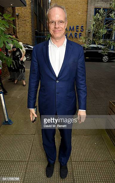 HansUlrich Obrist attends the NSPCC Dinner at River Cafe on June 19 2016 in London England