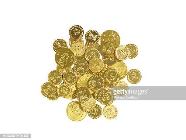 Hanukah gelt (chocolate gold coins)