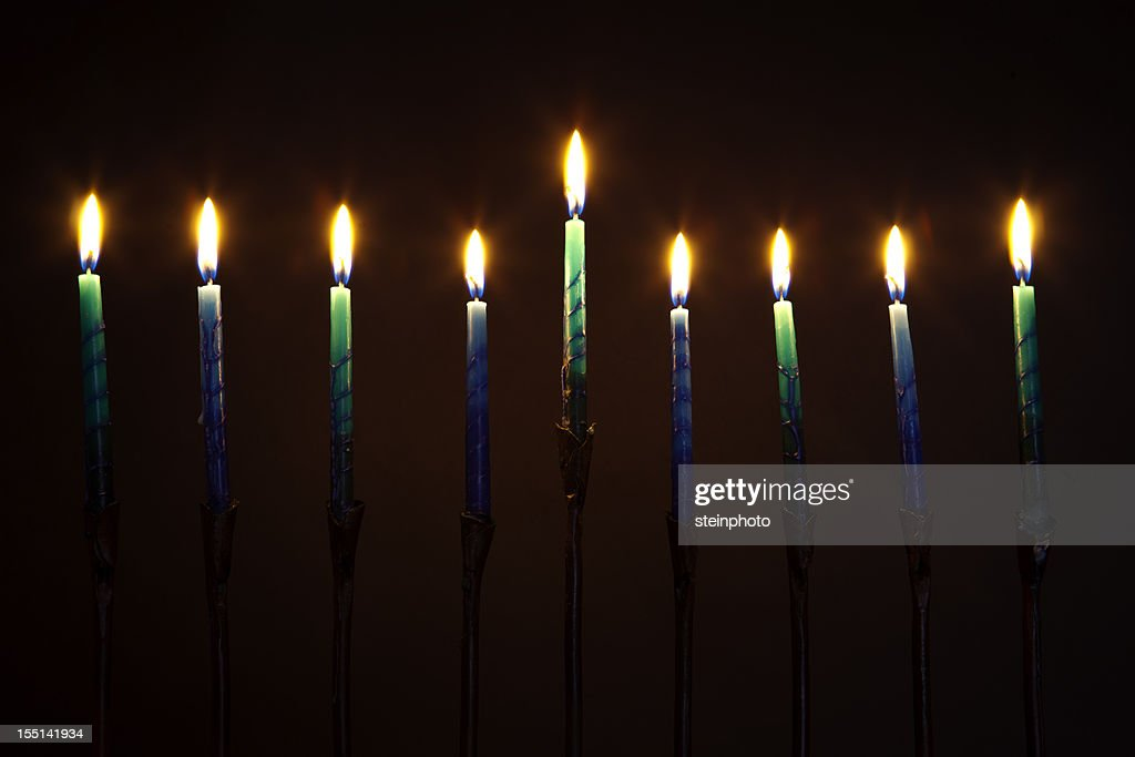 Hanukkah Menorah Candles