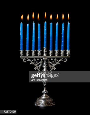ハヌカ(ユダヤ教のお祭り)メノラー
