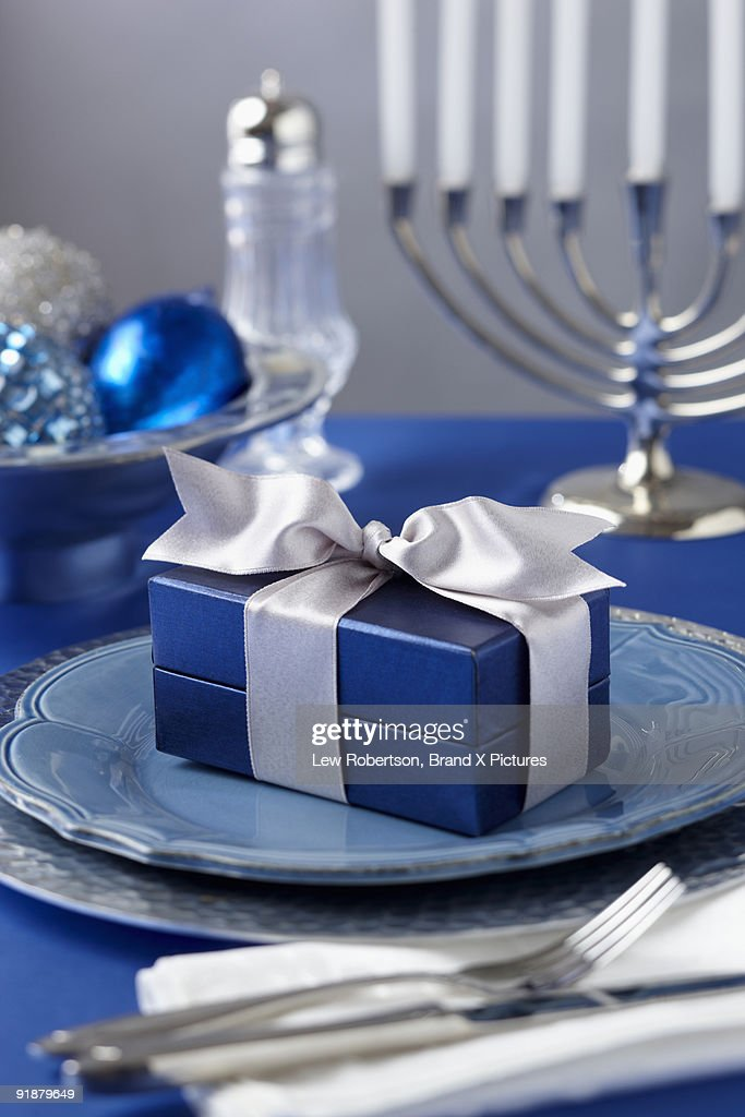 Hanukkah Place Setting