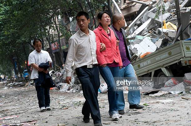 Hanwang is a small city close to the epicentre of the 79 magnitude earthquake that severely hit the Sichuan province Survivors take in their old...