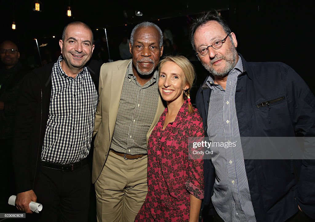 Hany Abu Assad, <a gi-track='captionPersonalityLinkClicked' href=/galleries/search?phrase=Danny+Glover&family=editorial&specificpeople=171304 ng-click='$event.stopPropagation()'>Danny Glover</a>, Sam Taylor-Johnson and <a gi-track='captionPersonalityLinkClicked' href=/galleries/search?phrase=Jean+Reno&family=editorial&specificpeople=213522 ng-click='$event.stopPropagation()'>Jean Reno</a> attend the 2016 Tribeca Film Festival Awards Night on April 21, 2016 in New York City.